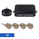 Radar de Recul à Senseurs et Haut-Parleur - Choix de Couleur - 4 ou 8 Capteurs