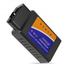 Elm327 WiFi OBDII, lecteur de code OBD2, outil de diagnostic sans fil compatible iOS/Android/PC