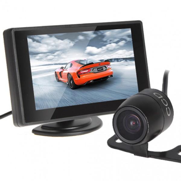 """Camera de recul écran 4.3"""" - Kit Complet"""