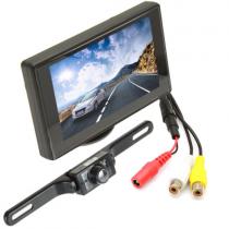 Caméra de recul sans fil imperméable avec vision nocturne