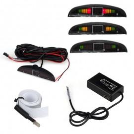 Radar de Recul Électromagnétique avec Écran LED pour Voiture