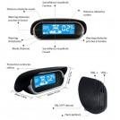 Voiture Parking Reverse Sauvegarde Radar Sound Alerte avec 8 Capteurs Professionnel