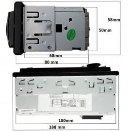Autoradio Technologie Bluetooth Avec Prise USB, AUX et Carte SD
