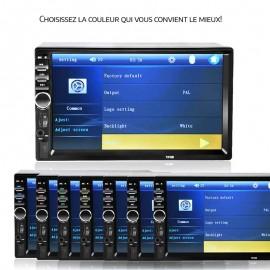 Autoradio Technologie Bluetooth Avec Ecran De 7 Pouces