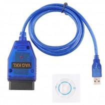 OBD2 Câble Diagnostique pour Audi VW Seat Vag COM KKL 409.1