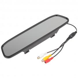 """Caméra de Recul avec Rétroviseur Écran LCD 4.3"""""""