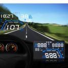 Affichage Tête Haute HUD par GPS Universel avec Alarme Survitesse