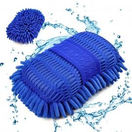 Eponge de lavage en Microfibre pour Véhicule
