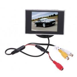 """Écran LCD 3.5"""" pour Caméra de Recul"""