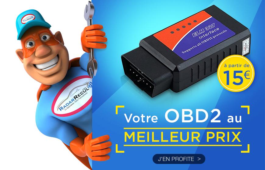 Votre OBD2 au meilleur prix
